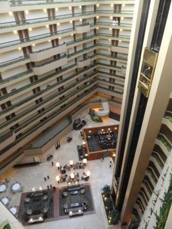 The Westin Chicago Northwest Atrium From 12th Floor