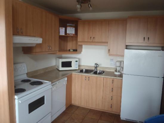 Le Montagnard : Kitchen