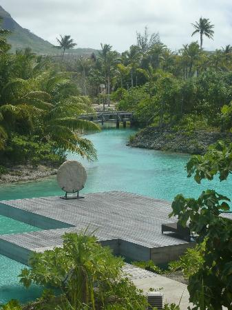 Four Seasons Resort Bora Bora: yoga platform