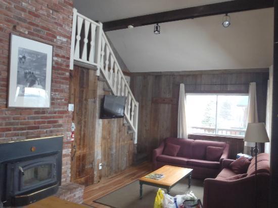 Le Montagnard: Living Room