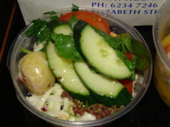 The Fish Bar: Small Salad