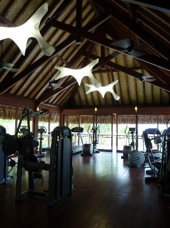 Four Seasons Resort Bora Bora: the gym