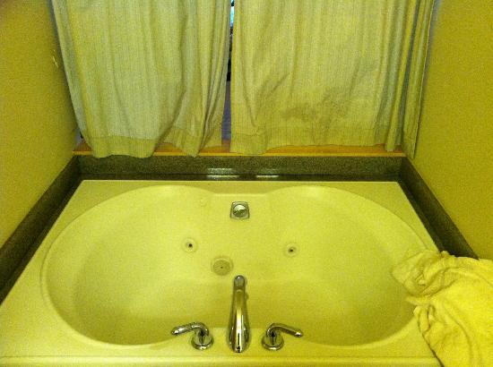 Friday Harbor House: jetted tub
