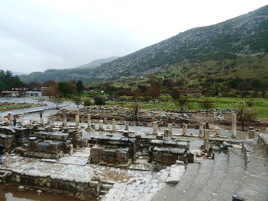 No Frills Ephesus Tours : View from the Bouleuterion