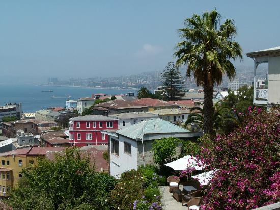 Zerohotel: Blick vom Zimmer über die Bucht für 850 Euro/Nacht