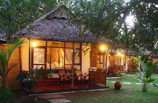 Les 3 Elephants Cherai Beach: Mango Tree Bungalow