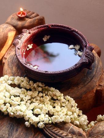 Les 3 Elephants Cherai Beach : South Indian traditional massage