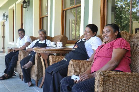 Ridgemor Villa : The fantastic staff