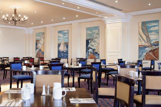 The Terrace Restaurant Malta at The Westin Dragonara Resort : Terrace Restaurant Breakfast Set Up