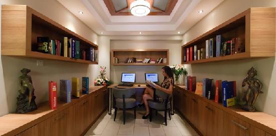 Asterias Beach Hotel: Information Room and Internet Corner 2012