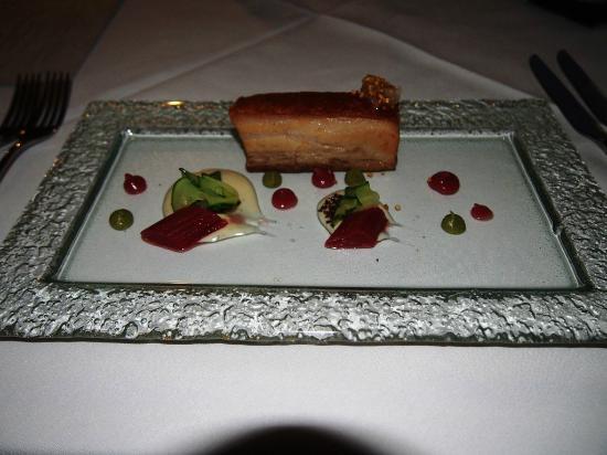 The Guest House Restaurant: Pork belly