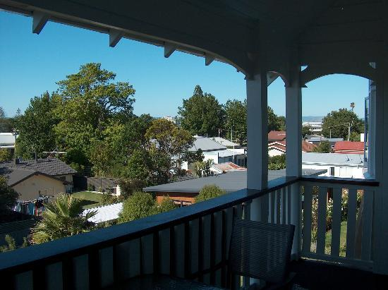 Cedar House : View from first floor balcony