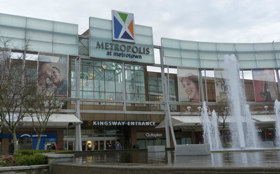 Metropolis At Metrotown: Entrance to Metrotown