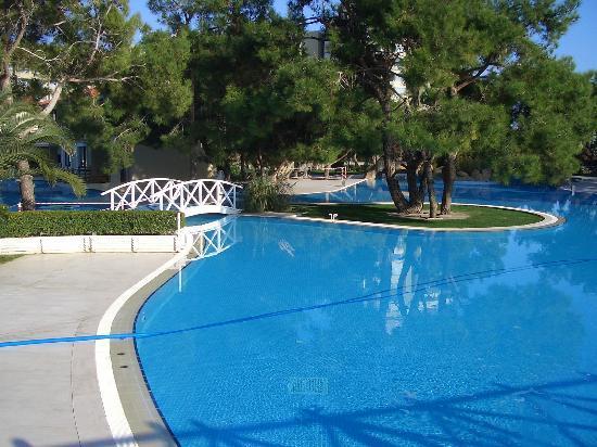 Titanic Beach Lara Hotel: Small part of huge pool area