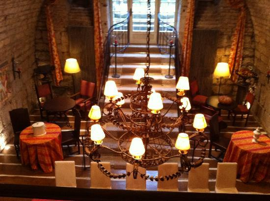 Chateau De Germigney : 1 of the dining rooms