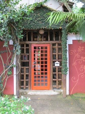 Hotel Pousada Guarana: front door