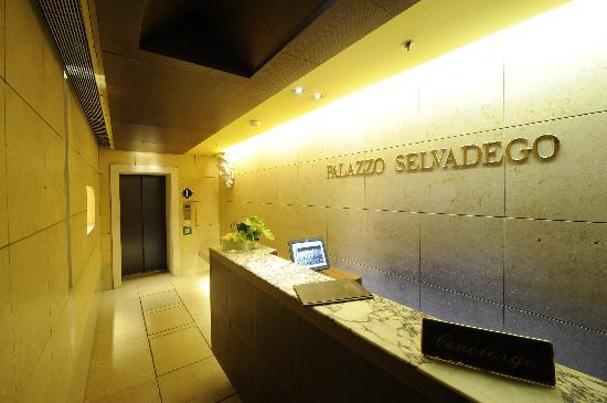 Palazzo Selvadego Reception