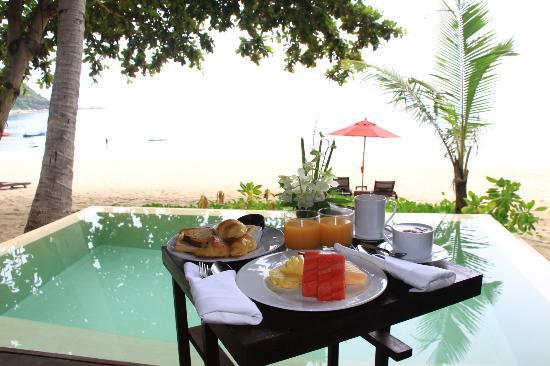 Anantara Rasananda Koh Phangan Villas : breakfast