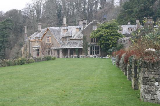 Hotel Endsleigh: from the garden