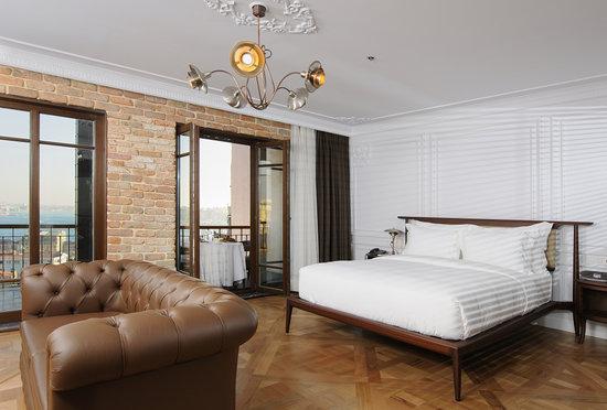 Georges Hotel Galata : Panorama Suite bedroom