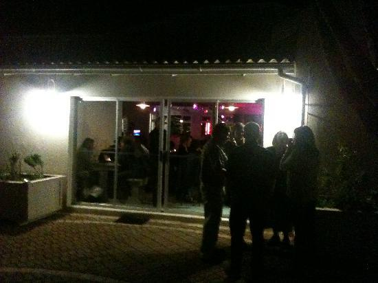 Steve's 12 Bar Blues: In the courtyard