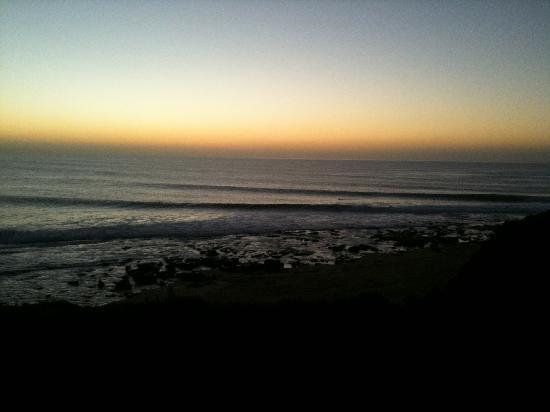 Steve's 12 Bar Blues: Jeffreys Bay sunset at Supertubes