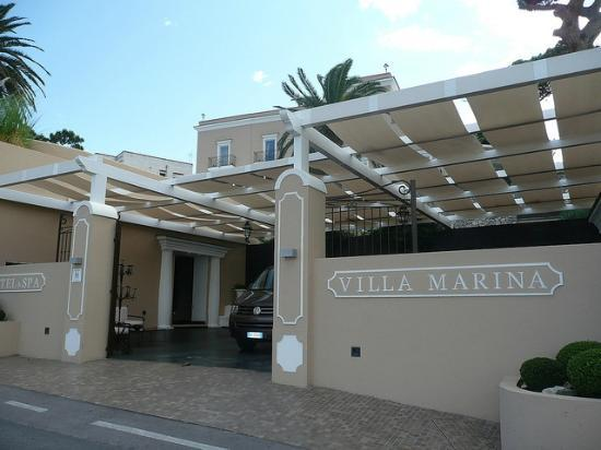 Villa Marina Capri Hotel & Spa: the front of the hotel