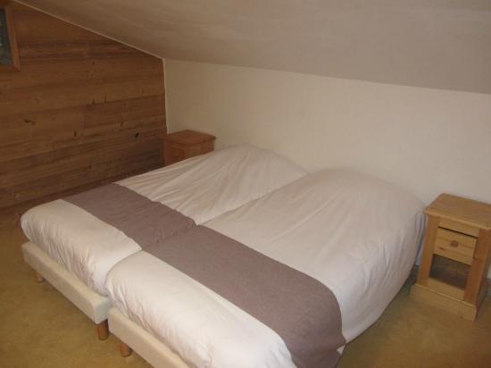 Macot-la-Plagne, France: Bedroom in second floor... private...