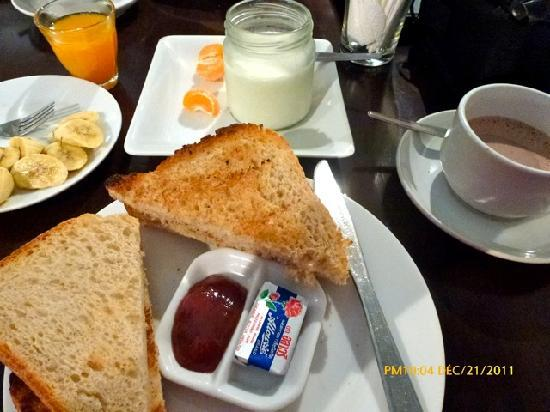 Hansaah Guest House: GREAT HOMEMADE NUTRICIOUS BREAKFAST