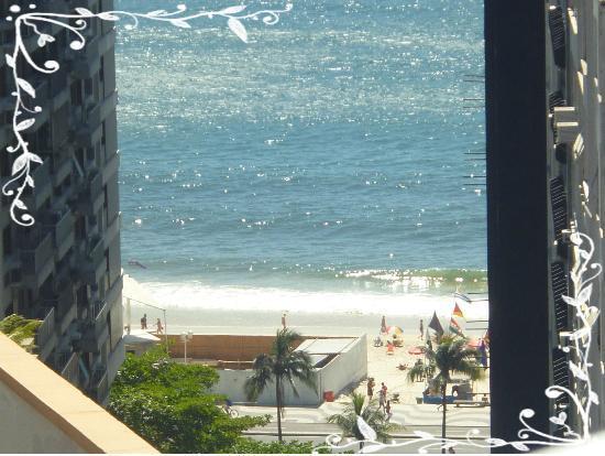 Ducasse Rio Hotel: vista para copacabana