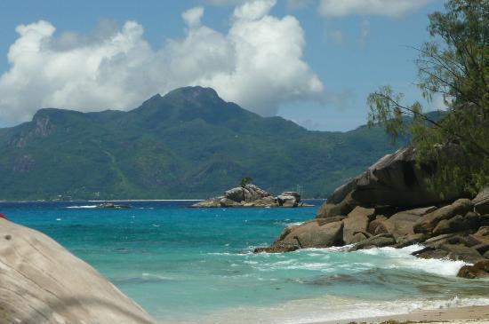 Anse Soleil Beachcomber : Blick vom Strand aus