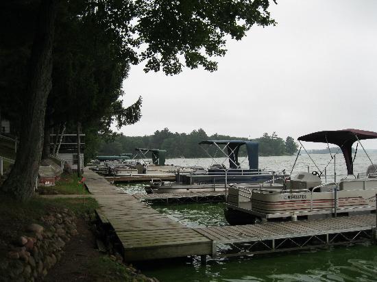Lakeview Resort: Docks
