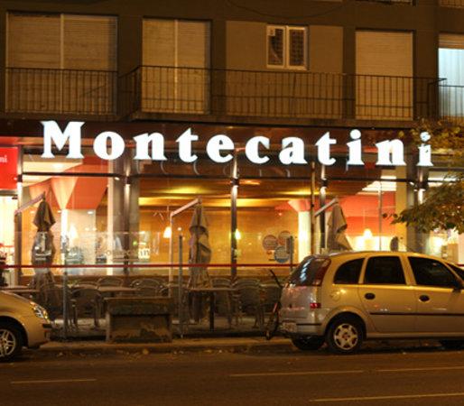 Montecatini: Fachada