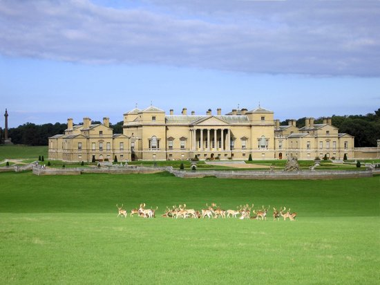 Wells-next-the-Sea, UK : Holkham Hall