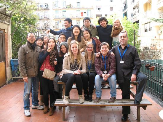 Babylon Idiomas Barcelona: Students from all over the world