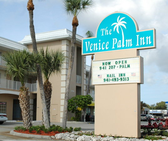 Rodeway Inn: Welcome to The Venice Palm Inn