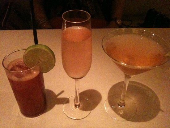 BoBo Restaurant : Cocktails made with the best!