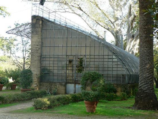 Villa Trabia: Serra