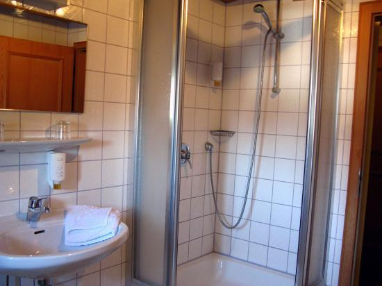 Fuchs Brauereigasthof: bathroom