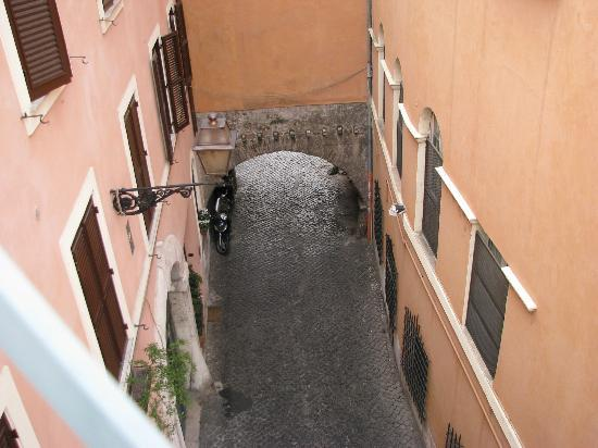 Residenza Arco dei Tolomei: View from our balcony - left