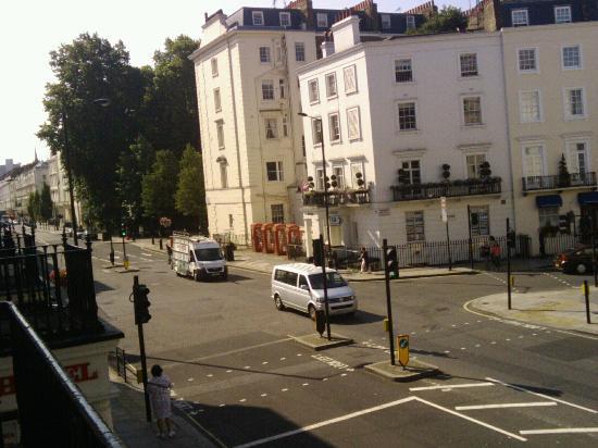 Stanley House: Vistas desde el balcón de la habitación