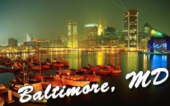 Baltimore Plaza Inner Harbor: Baltimore Skyline1