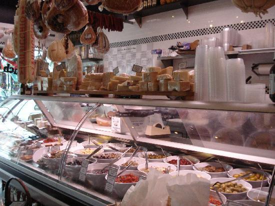 Touch of Italy: Saulmeria & Pasticceria Counter