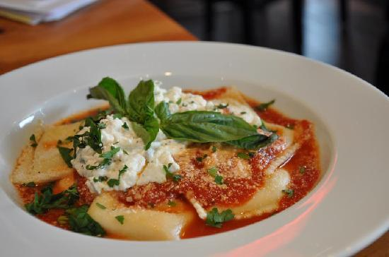 Touch of Italy: Ravioli with Ricotta and Fresh Basil