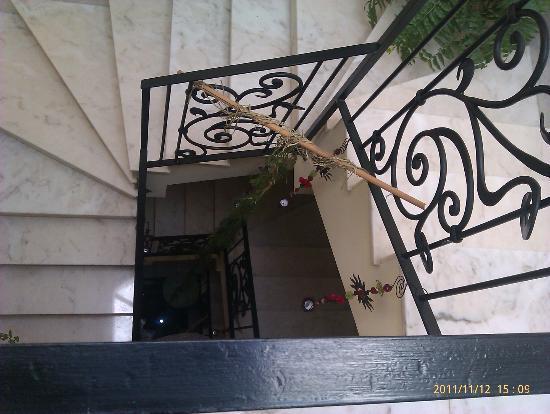 Residencial Terra de Mar: Escaleras