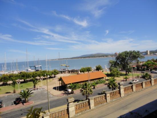 San Remo Terrazas Hotel: Vista desde la terraza de la habitación (1° piso)