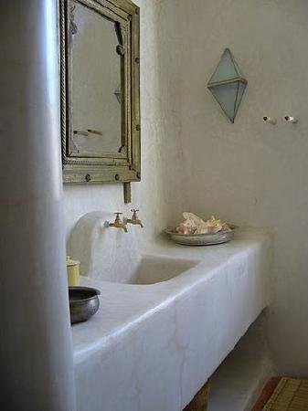 Riad Tafilag : Salle de bain Atlas