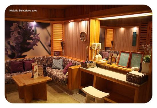 Cumulus Resort Imatran Valtionhotelli: комната отдыха в спа