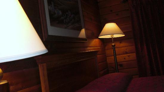 Pocahontas Cabins: Bed area