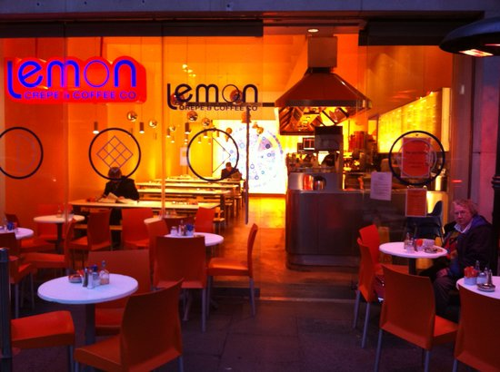 Photo of American Restaurant Lemon Crepe and Coffe Co. at 66 South William Street & 61 Dawson Street, Dublin, Ireland